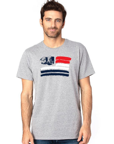 Hereford Patriotic Tee - Gray