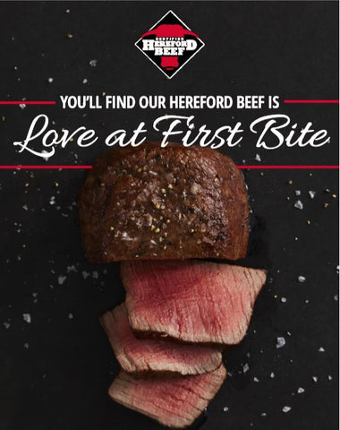 Certified Hereford Beef Poster (22x28) - Filet