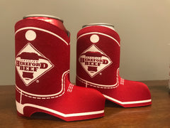 Certified Hereford Beef Boot Koozie