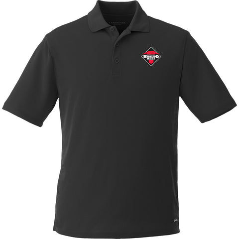 Certified Hereford Beef Men's Polo Shirt - Black