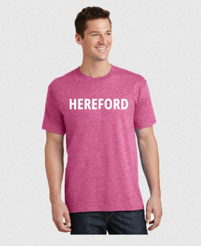 Hereford T-Shirt - Summer Edition - Pink