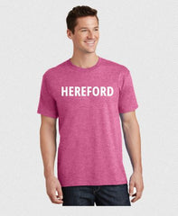 Hereford T-Shirt - Pink