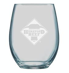 Certified Hereford Beef Wine Glasses