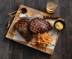 Certified Hereford Beef Ribeye Canvas Print