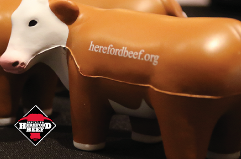 Certified Hereford Beef Squeeze Toy