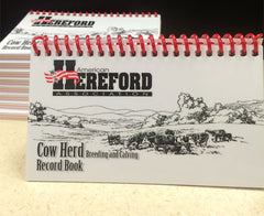 Pocket Cow Herd Record Book