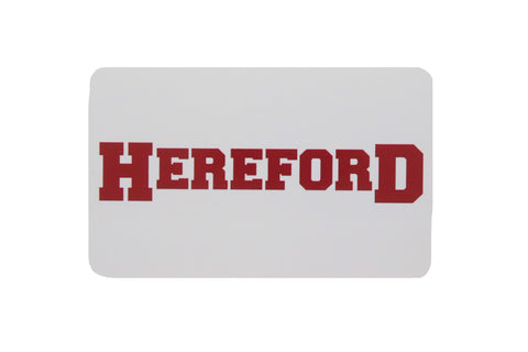 Hereford Decal