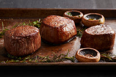 Certified Hereford Beef Multiple Filet Canvas Print