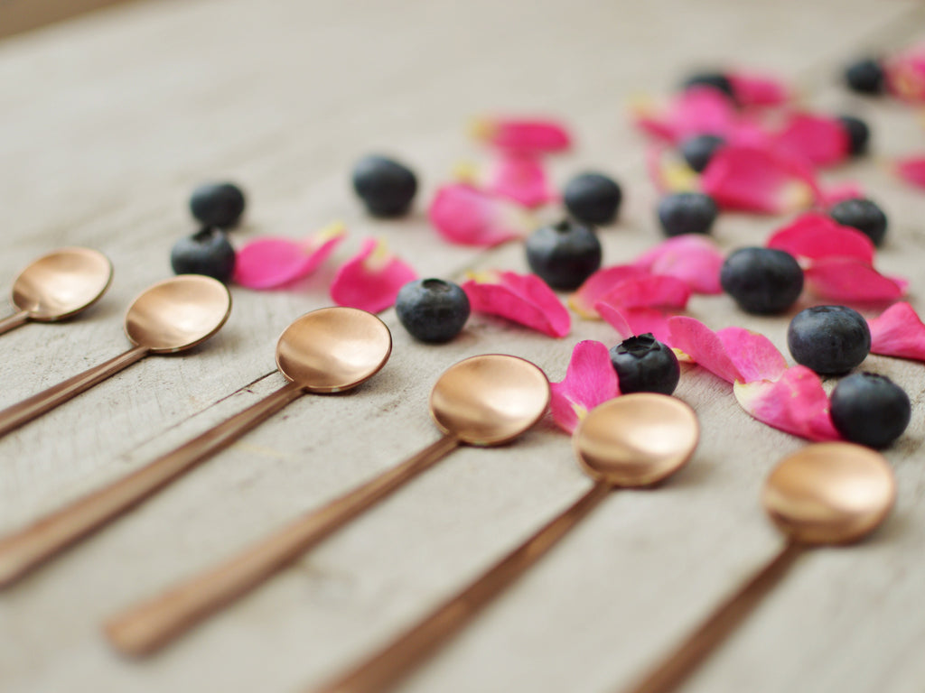 Copper Coffee Spoons - Get The Look Interiors - 1