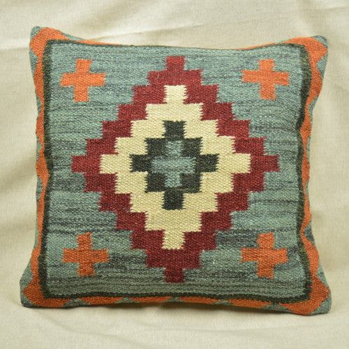 Kilim Diamond Cushion - Get The Look Interiors