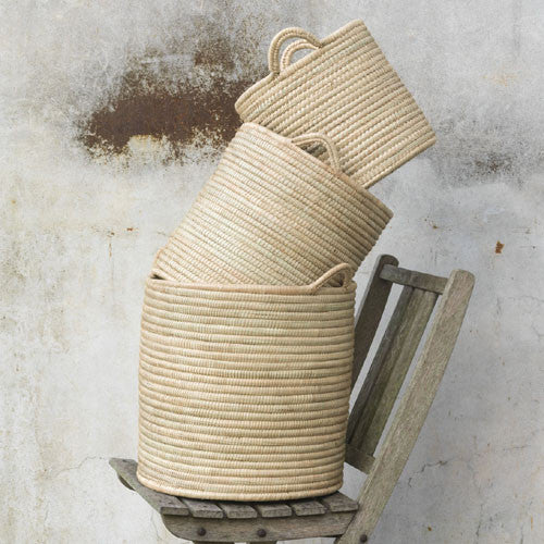 Woven Basket Set - Get The Look Interiors