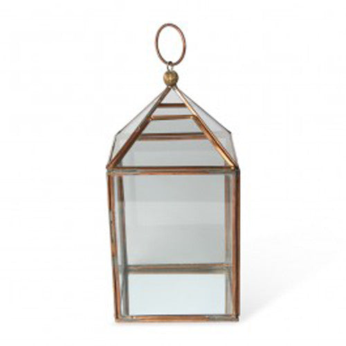 Copper Glasshouse Lantern - Get The Look Interiors