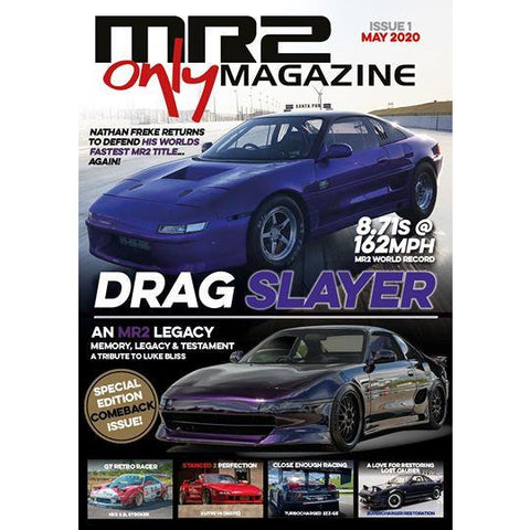 MR2 Only Magazine - Issue 1 May 2020