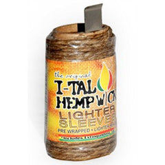 iTal Hemp Wick Lighter Sleeve 16.5FT