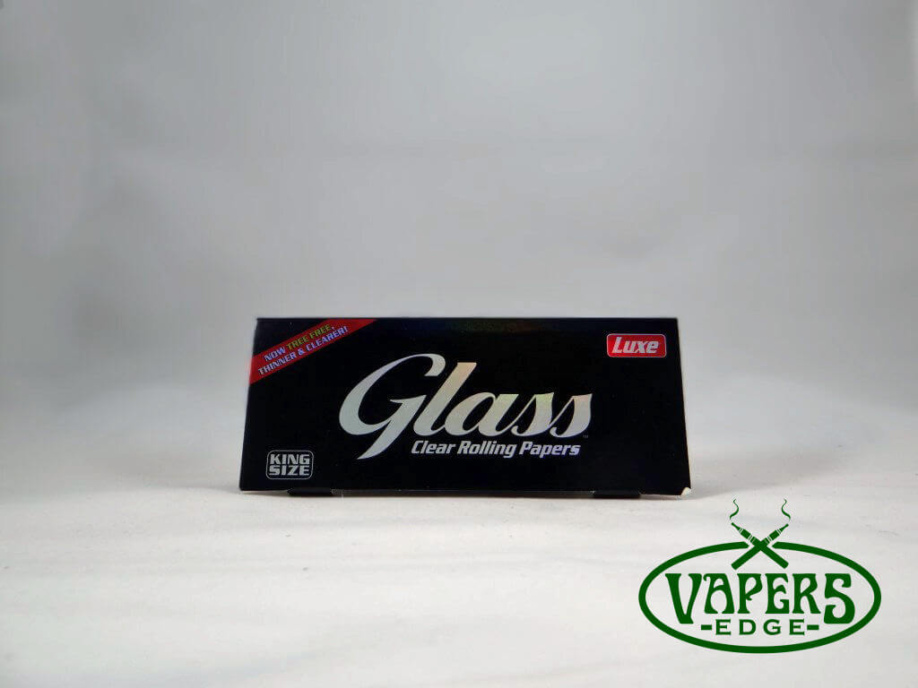 Glass Cellulose Rolling Papers King Size 50 per