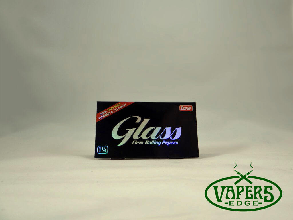 Glass Cellulose Rolling Papers 1 1/4 Size 50 per