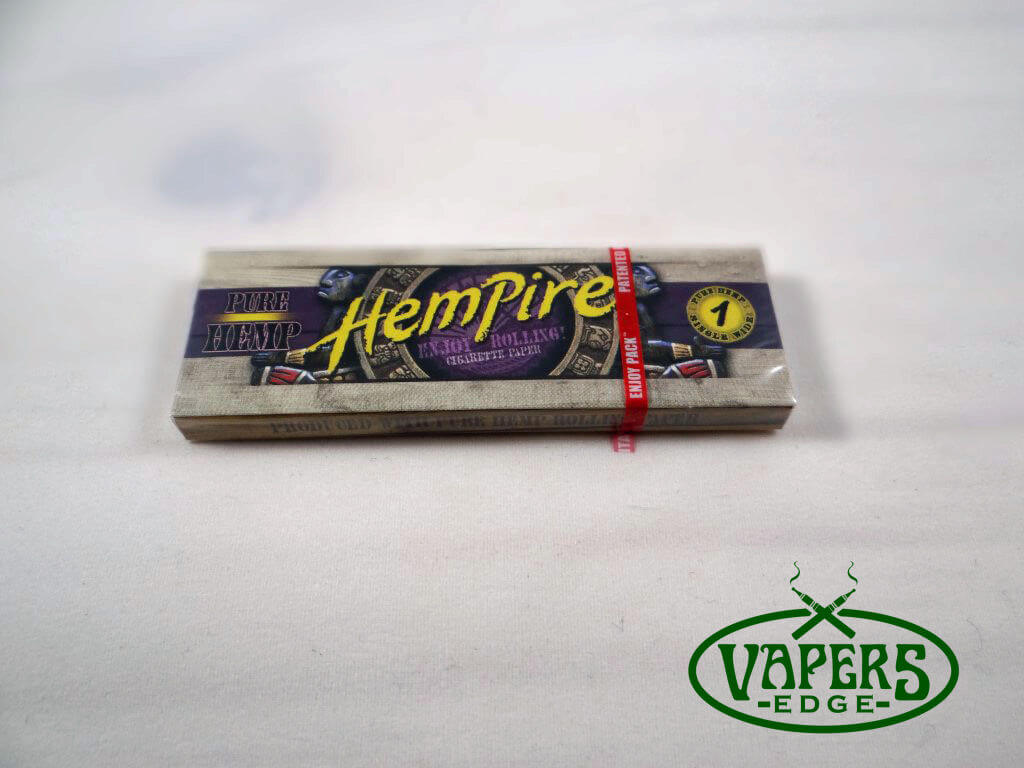 Hempire Hemp Rolling Papers Single Wide Size 50 per