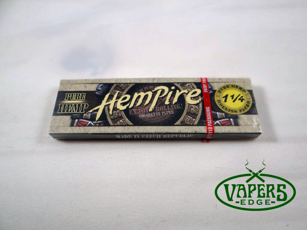 Hempire Hemp Rolling Papers 1 1/4 Size 50 per