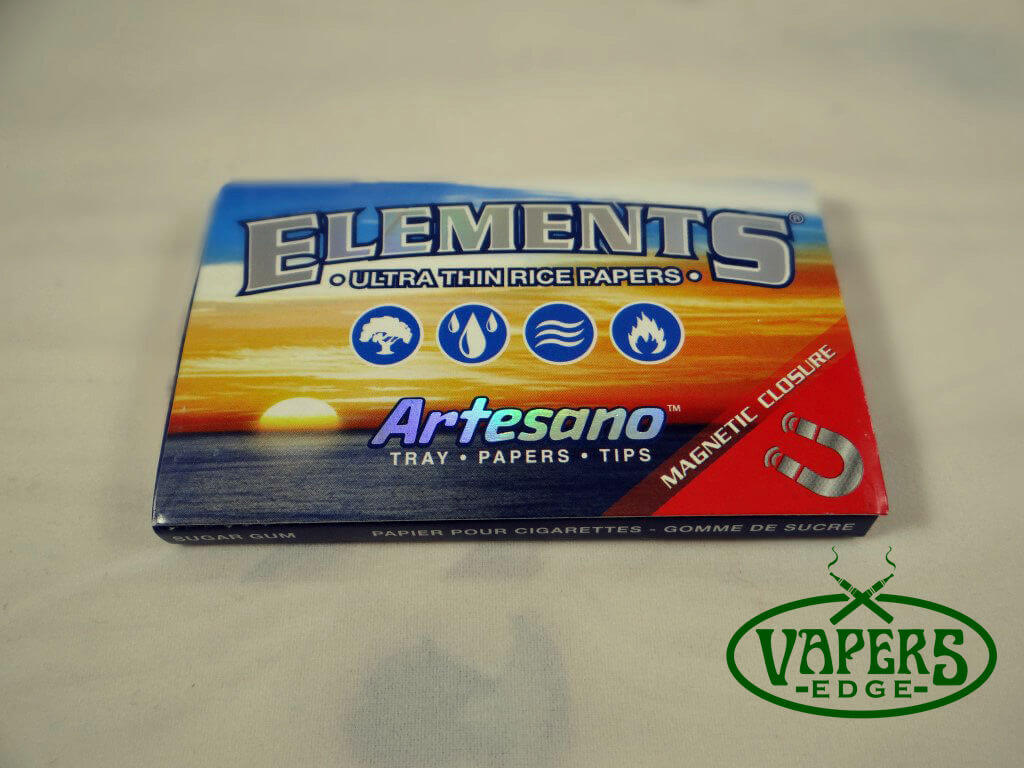 Elements Artesano Rice Rolling Papers 1 1/4 Size 50 per