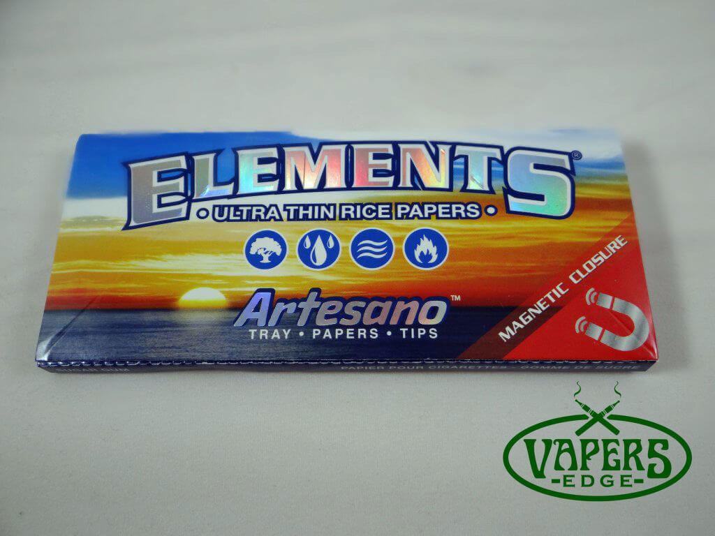 Elements Artesano Rice Rolling Papers King Size Slim 33 per