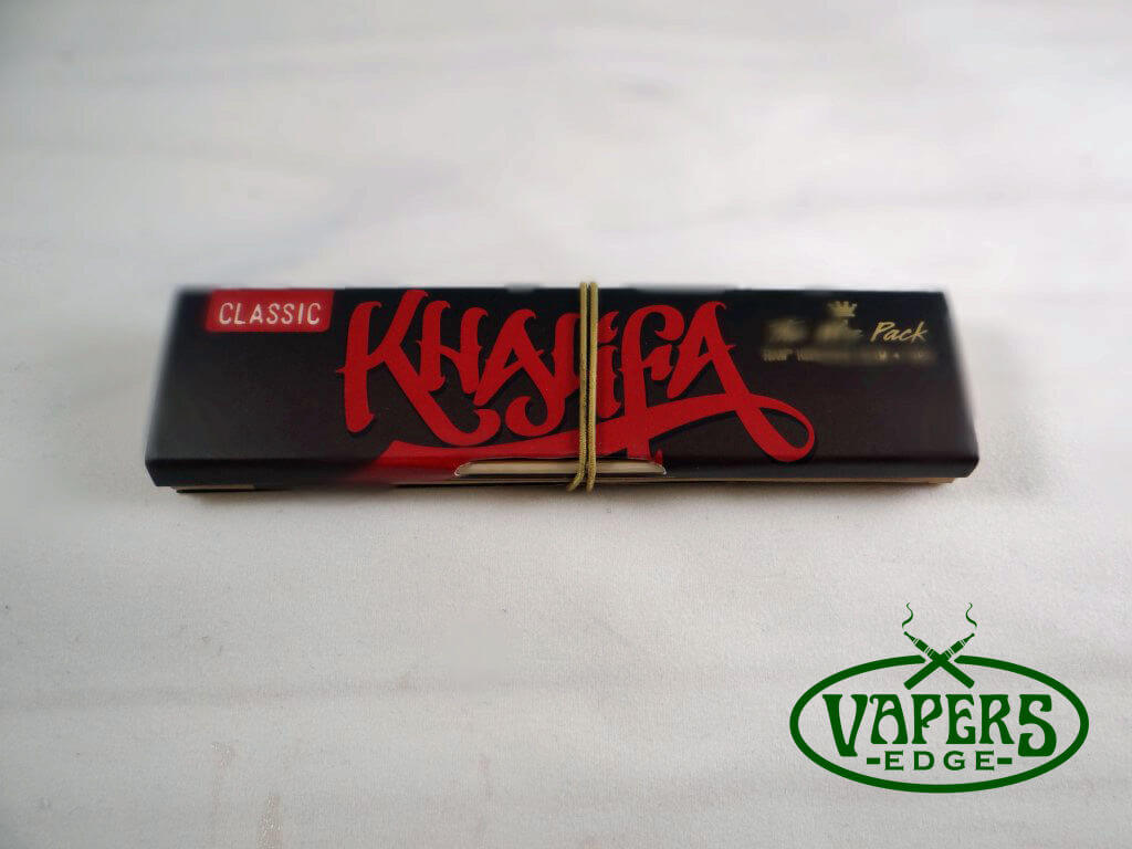 Wiz Khalifa Connoisseur Rolling Papers King Size Slim with Tips