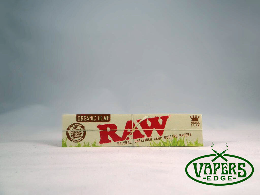 Raw Organic Hemp Rolling Papers King Size Slim 32 per