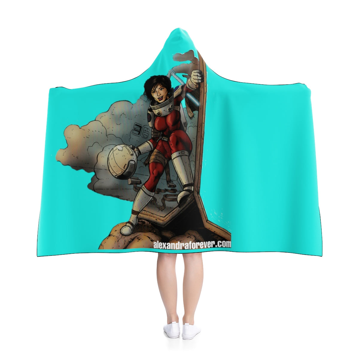 Alexandra Forever Hooded Blanket