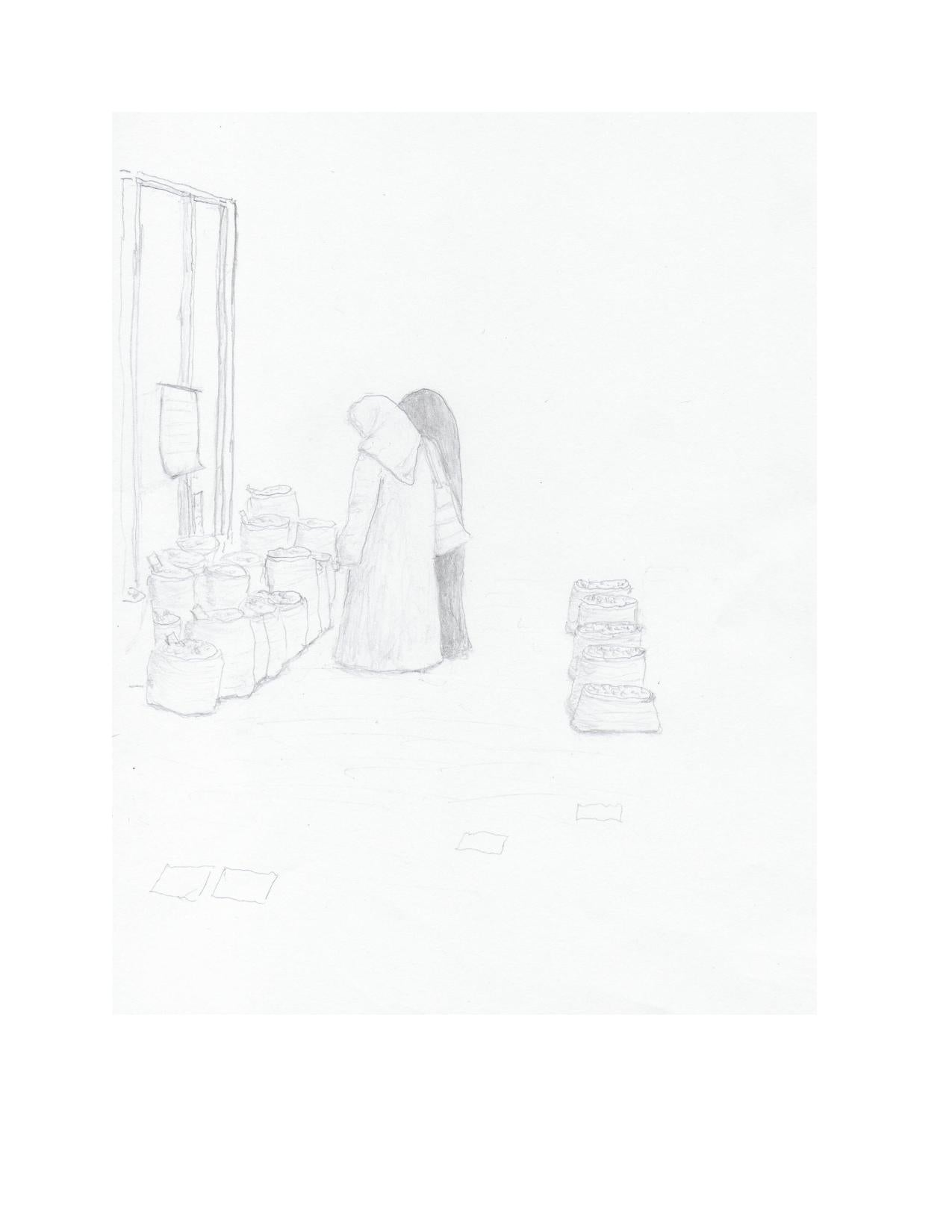 FREE Pencil Sketch From Alexandra Forever 2291 - Book One: Bazaar At The Temple