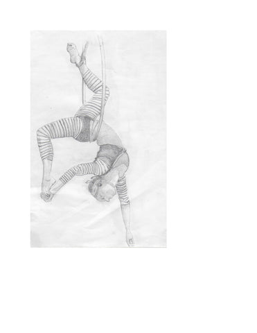 FREE Pencil Sketch Alexandra Forever 2291 Book Two - Days of Yore Acrobat
