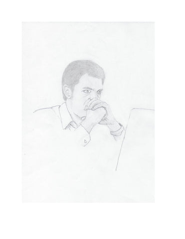 FREE Pencil Sketch From Alexandra Forever 2291 - Book One: Director Hargrove