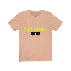 Cult Leader Unisex Jersey Short Sleeve Tee