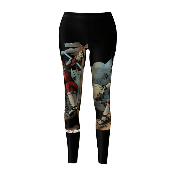 Alexandra Forever  Black Women's Cut & Sew Casual Leggings