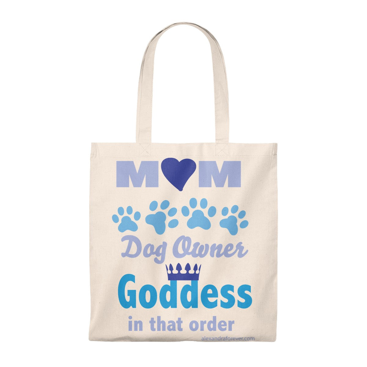 We know Mom is a Goddess - Tote Bag - Vintage