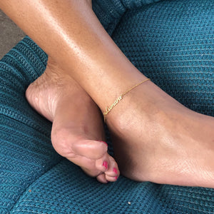 Signature Anklet
