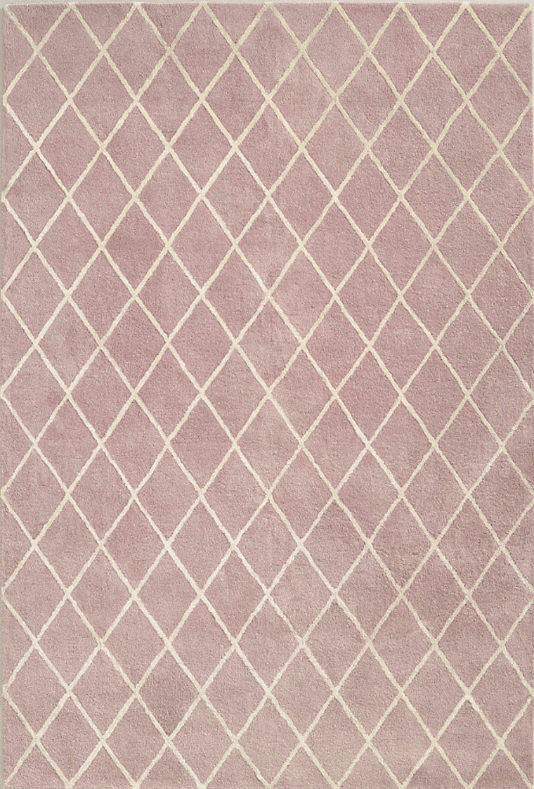 Tapete Amari Trellis Dusty Rose - Disponible en 3 medidas