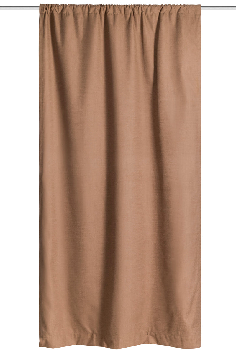 Cortina Blackout Linen Mocha