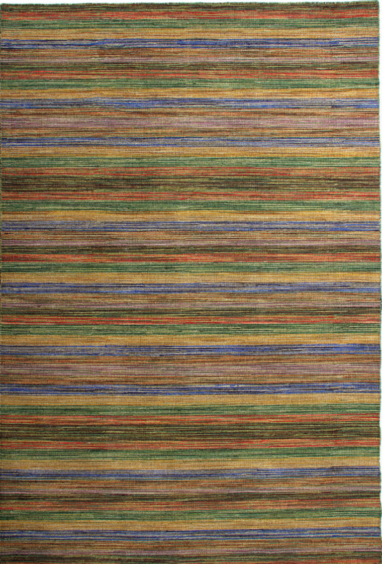 Tapete Kilim Durrie Green - Disponible en 3 Medidas