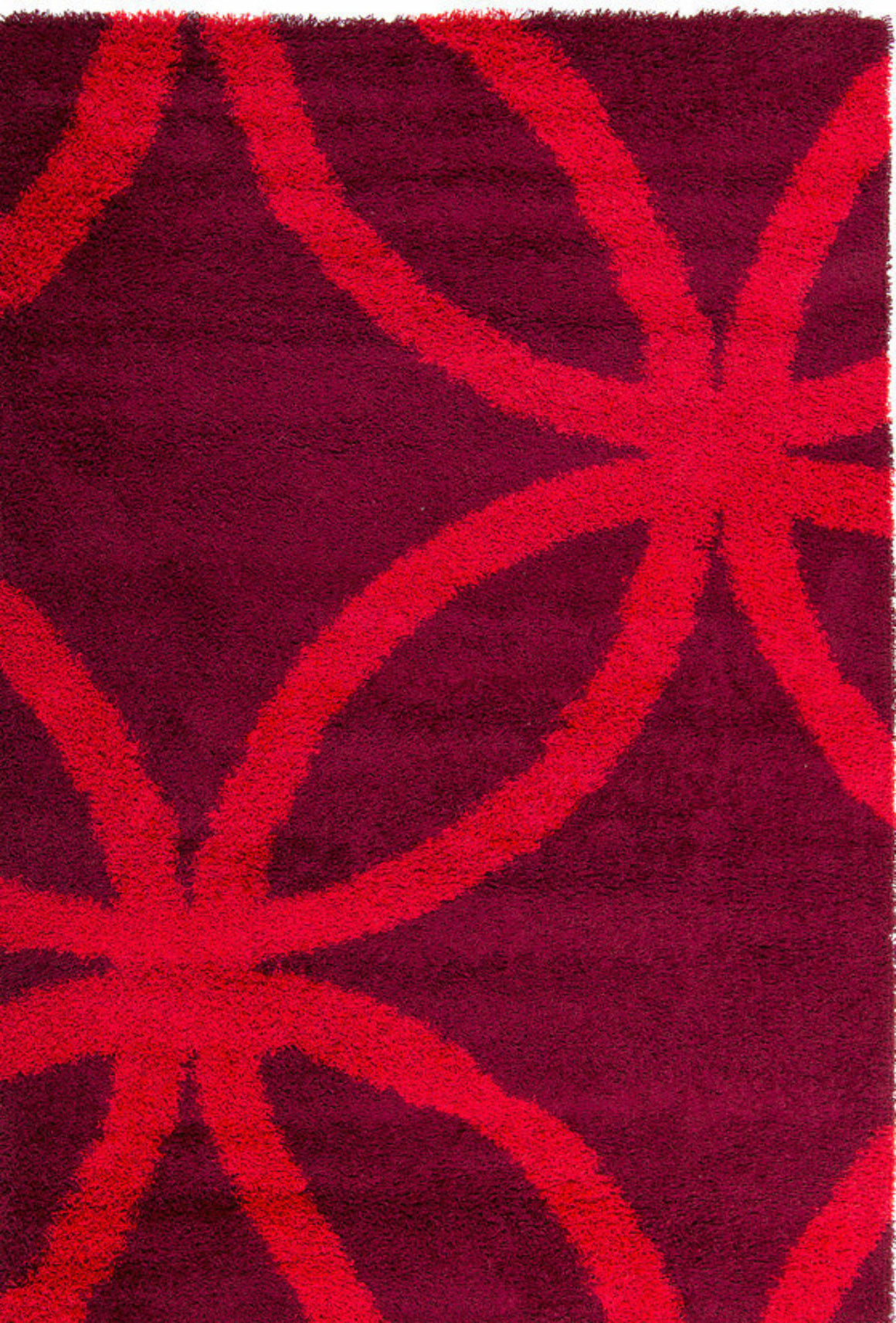 Tapete Montreal 3326, 2P46 Aubergine/Red