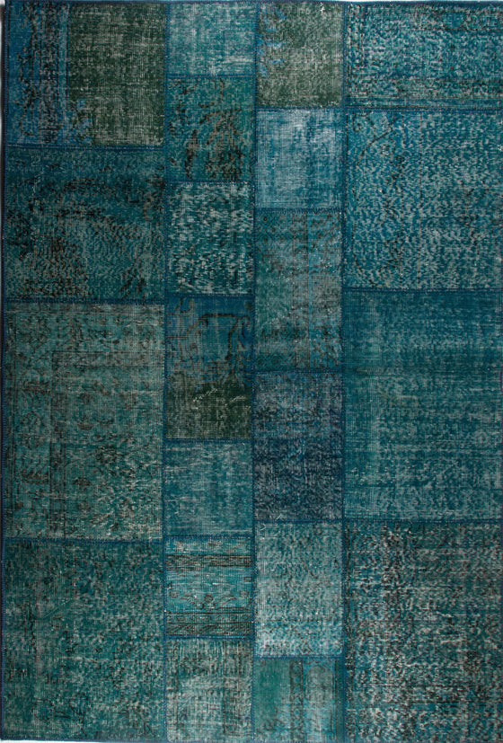 Tapete Patchwork Istanbul Turquoise