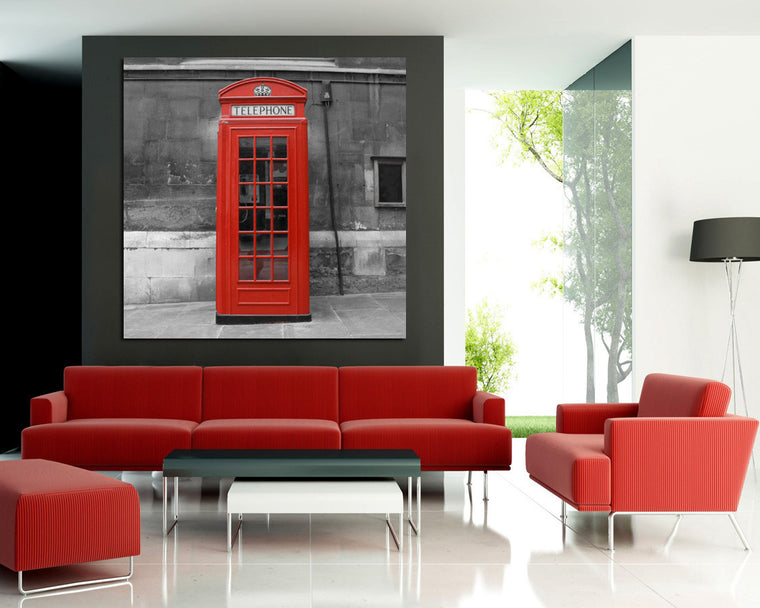 Cuadro London Booth SB-6798A 60x60 cm