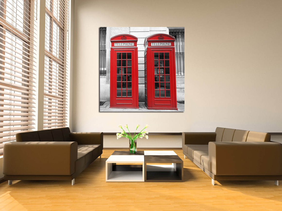 Cuadro London Booth 2 SB-6798C 60x60 cm