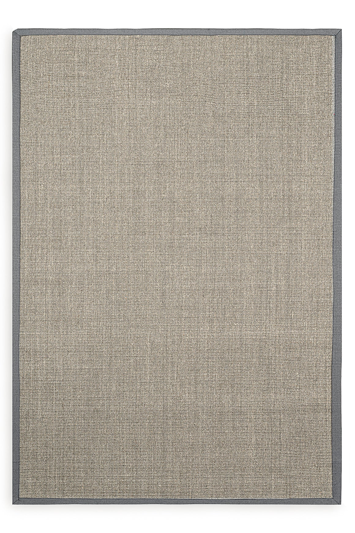 Tapete Sisal Border Dove Grey Mix / Grey