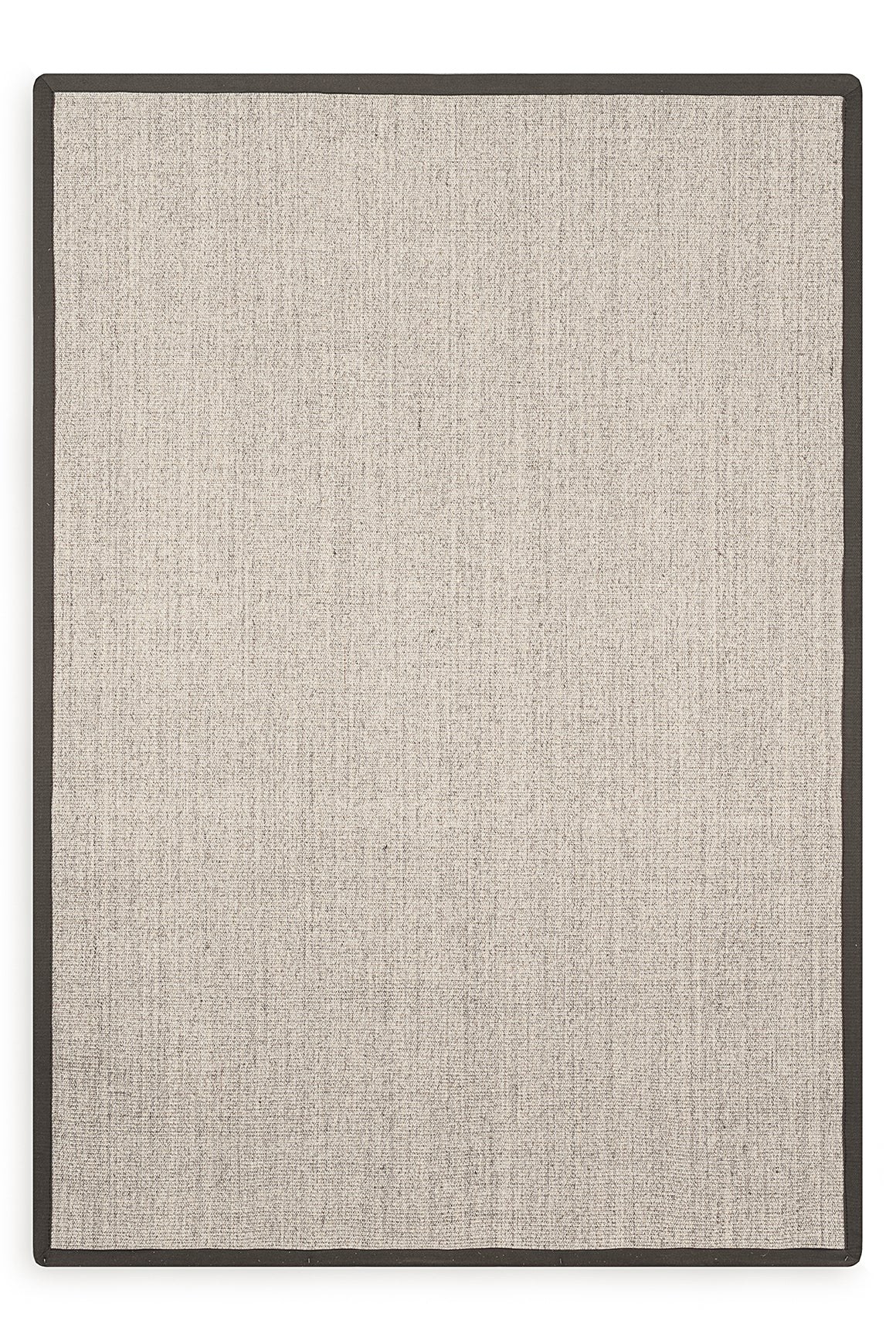 Tapete Sisal Border Marble/Brown