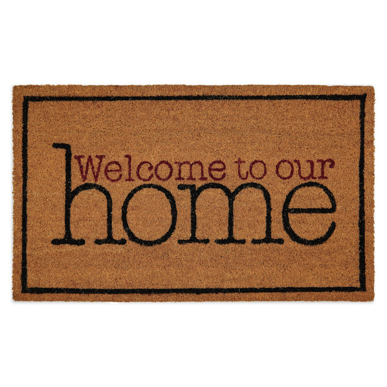 Tapete de entrada  Aristo Mat - Welcome to our home