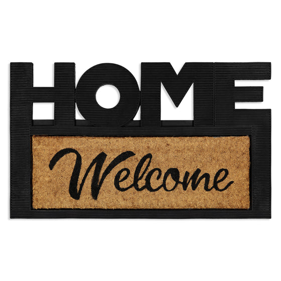 Tapete de Entrada Home & Welcome 45x75
