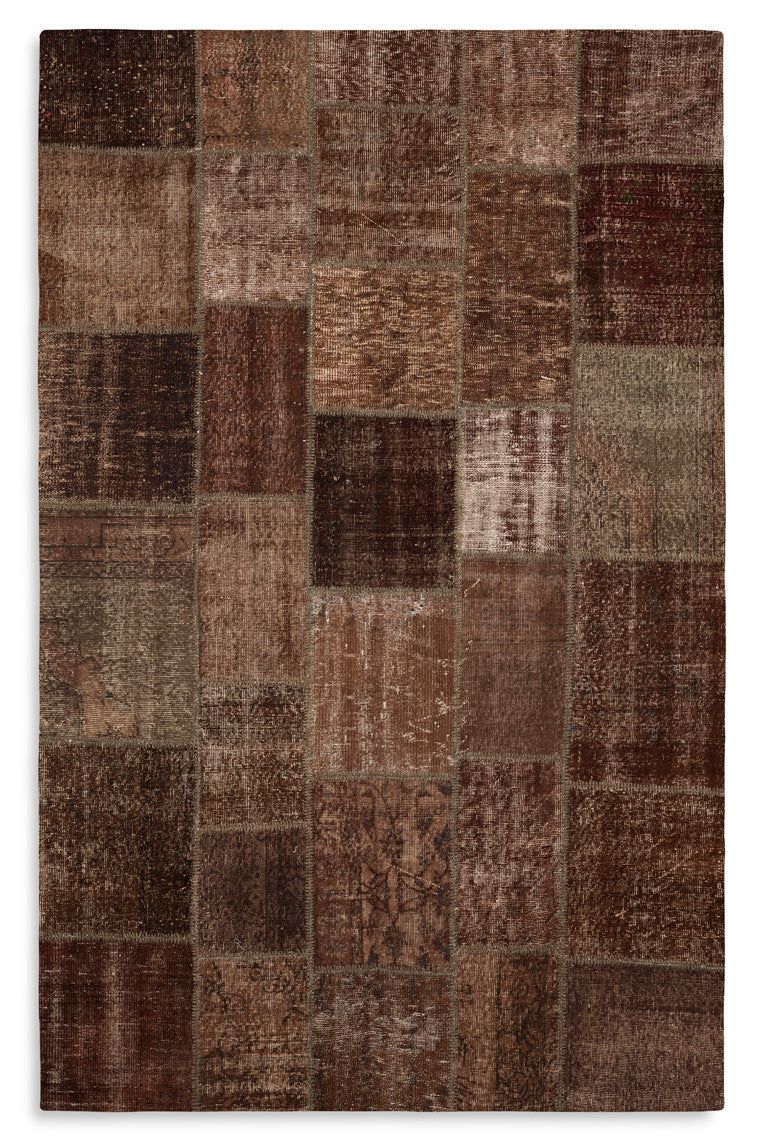 Tapete Patchwork Istanbul Brown