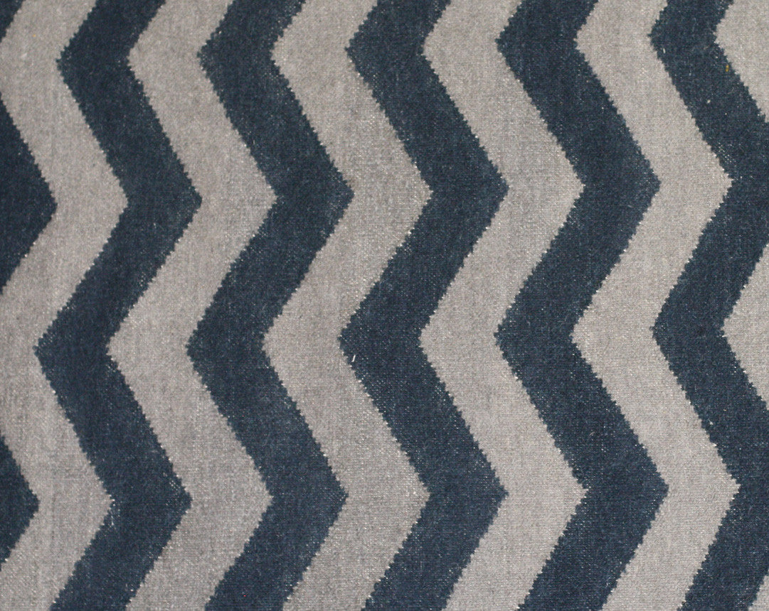 Tapete Marruecos Chevron Marine/Grey