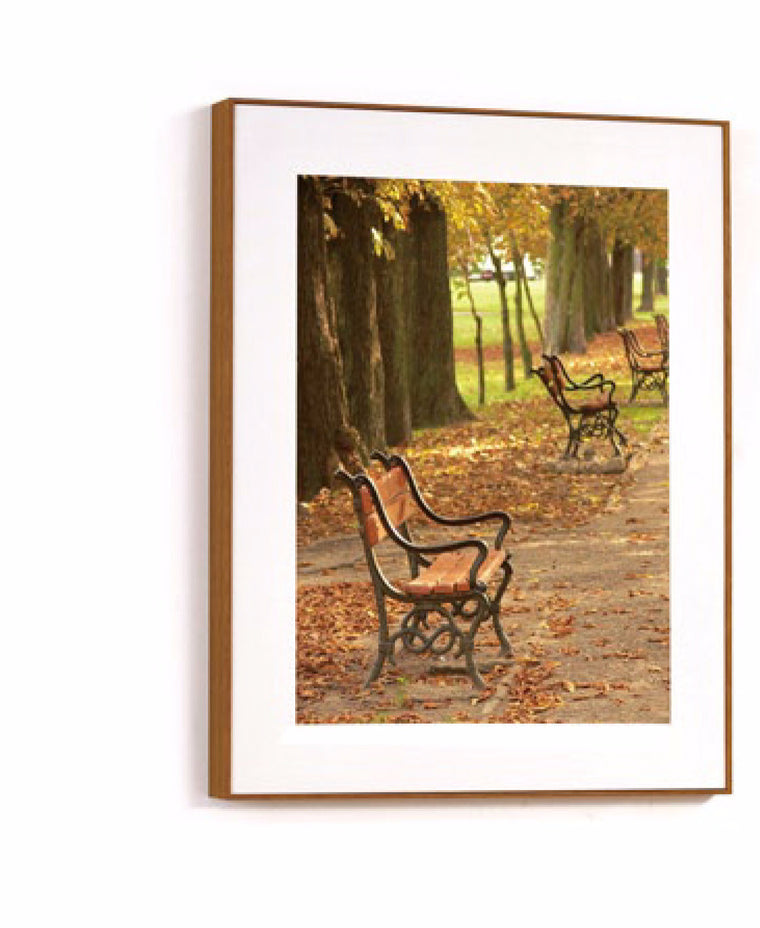 Cuadros  JD-2122 (Wood color frame) BANCA / 60 x 80cm