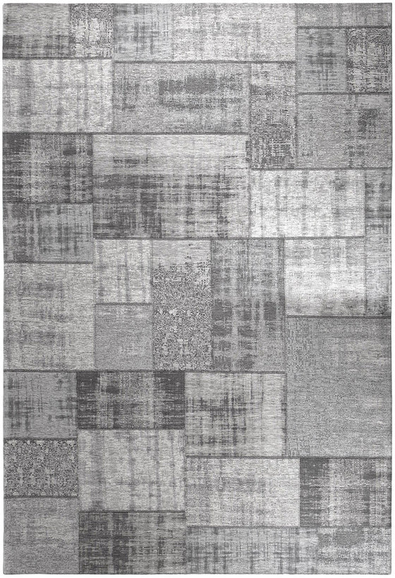 Tapete Patchwork Vintage Pagrun Metallic Grey