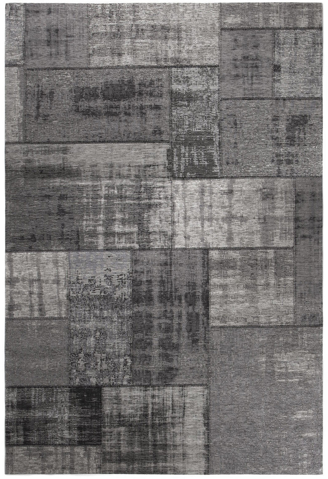 Tapete Patchwork Vintage Pagrun Dark Grey